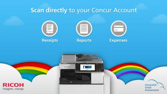 Ricoh ICE for Concur