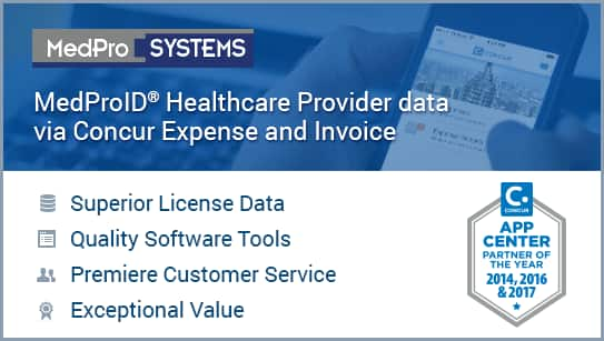 MedPro Concur Connect - Expense