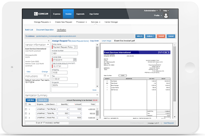 AP Automation Software - Accounts Payable Processing Solution - SAP